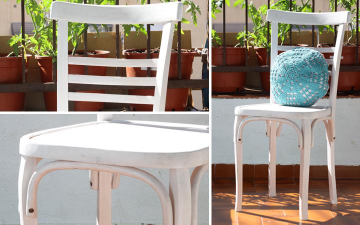 Hilos y madera: restauración de sillas