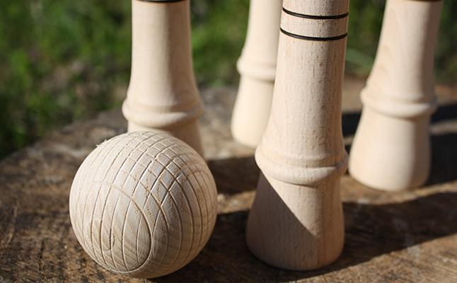 Hilos y madera · Bolos huertanos para zagales